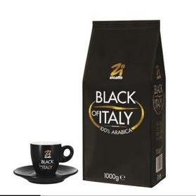 Zicaffe Black of Italy 1kg kawa ziarnista + filiżanka
