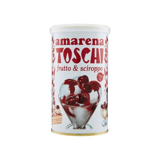 Toschi Amarena - drylowane wiśnie w syropie 400 g
