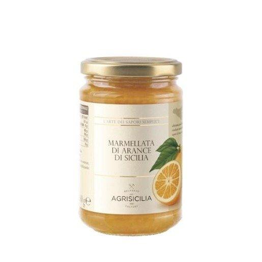 Agrisicilia -  Dżem z sycylijskich pomarańczy 360g