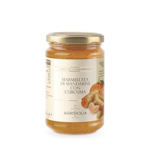 Agrisicilia Marmolada z mandarynką i kurkumą 360 g