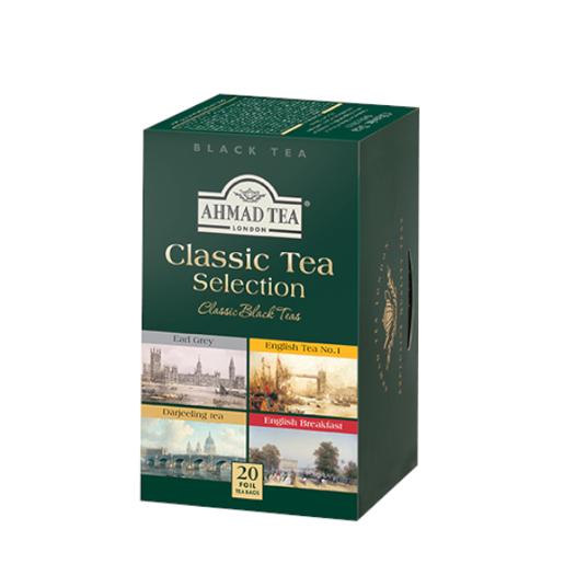 Ahmad Classic Tea Selection 20 saszetek czarnej herbaty