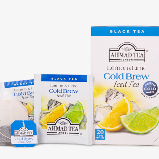 Ahmad Lemon & Lime Cold Brew Iced Tea 20 saszetek