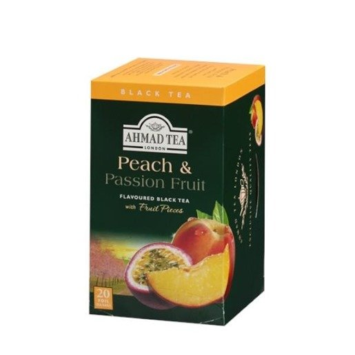 Ahmad Peach Passion Fruit 20 saszetek w kopertach