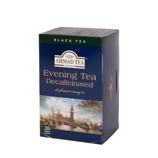 Ahmad czarna herbata bezkofeinowa 20 saszetek
