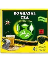 Akbar Do Ghazal Green Tea 100 szt. x 2g herbata saszetki