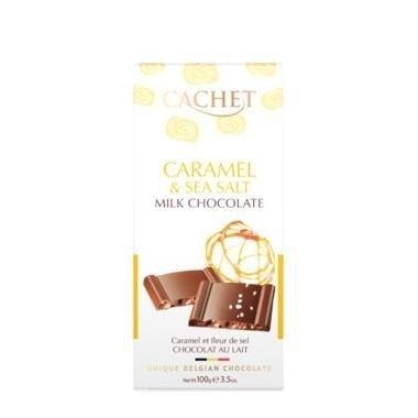 Cachet - Caramel & Sea Salt 100g