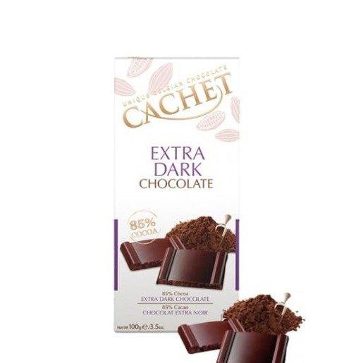 Cachet - Czekolada Extra Dark Chocolate 85% 100g