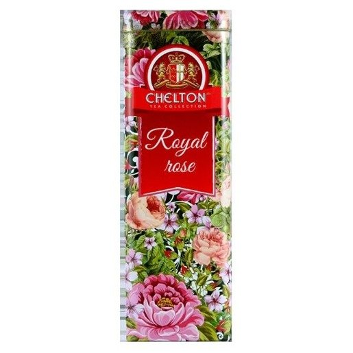 Chelton Królewska Róża 80g puszka herbata sypana