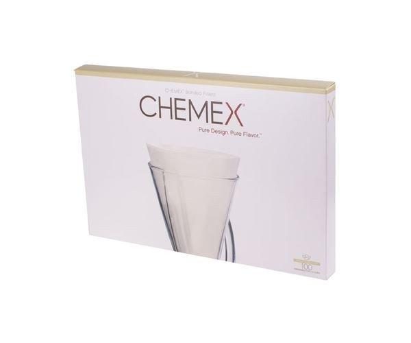 Chemex filtry papierowe - 3 filiżanki 100 sztuk