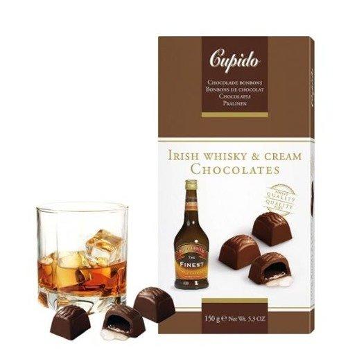 Cupido Irish Whisky & Cream Chocolates - 150g