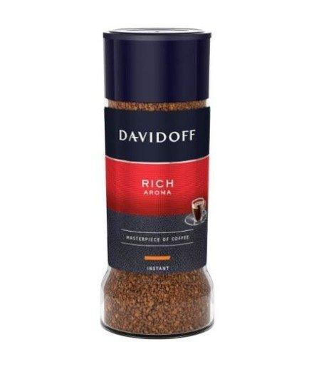 Davidoff Rich Aroma 100g kawa rozpuszczalna x 6