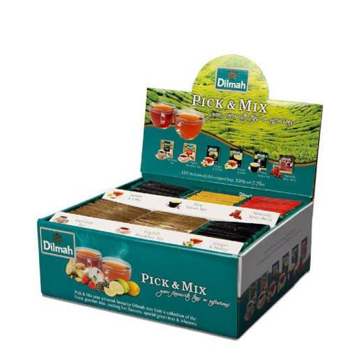 Dilmah Pick & Mix zestaw 120 herbaty w kopertach