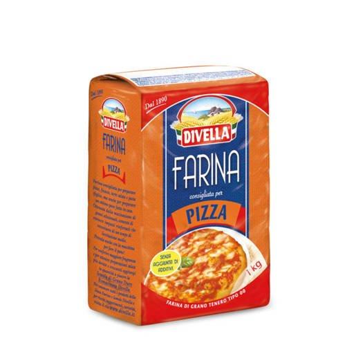Divella Pizza typ 00 włoska mąka do pizzy 1kg