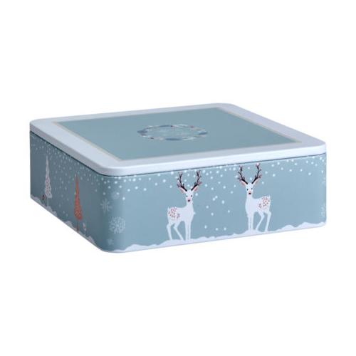 Eigenart Puszka kwadrat Winter Friends Deers