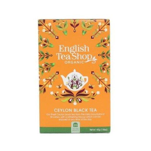 English Tea Shop Ceylon Black Tea - 20 saszetek