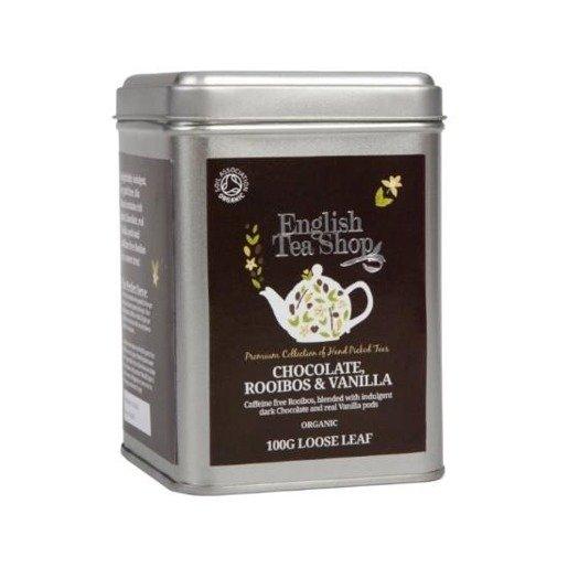 English Tea Shop Chocolate Rooibos Vanilla 100g