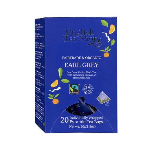 English Tea Shop Earl Grey  - 20 piramidek