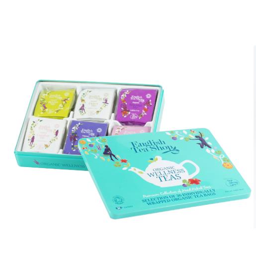 English Tea Shop Organic Wellness Teas  - 36 saszetek