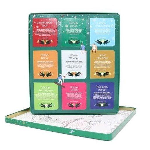 English Tea Shop Premium Holiday Collection - Świąteczny zielony zestaw 72 saszetki