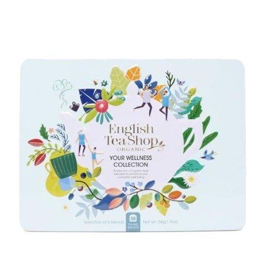English Tea Shop Your Wellness Collection - 36 kopert w metalowej puszce