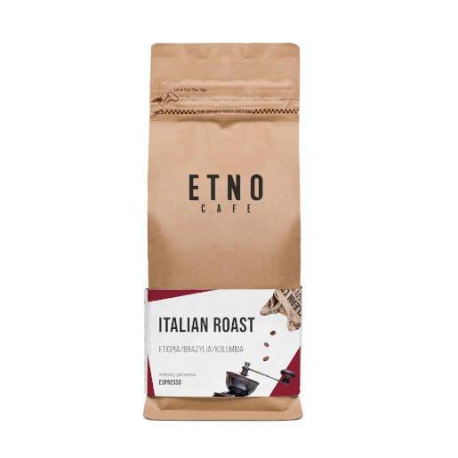 Etno Italian Roast kawa ziarnista 1kg