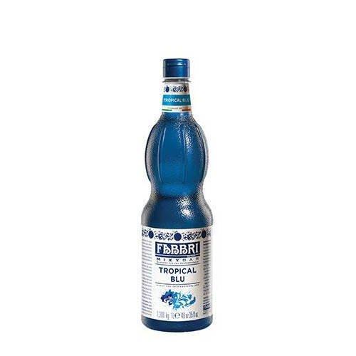 FABBRI Tropical Blu włoski syrop tropikalny błękit 1l