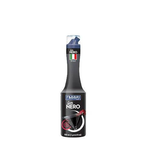 Fabbri Gum Nero włoski czarny syrop do koktajli 500ml
