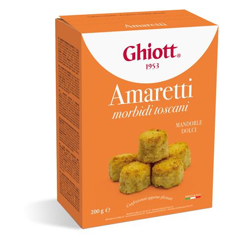 Ghiott Amaretti morbidi toscani 200 g kartonik