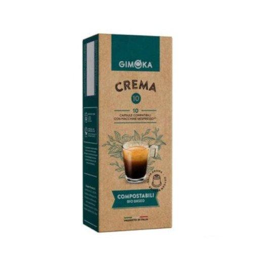Gimoka Crema BIO Nespresso 10 kapsułek