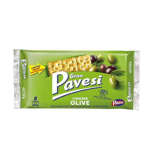 Gran Pavesi i Cracker Olive krakersy z oliwkami 280 g