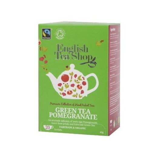 Green Tea Pomegranate - 20 saszetek