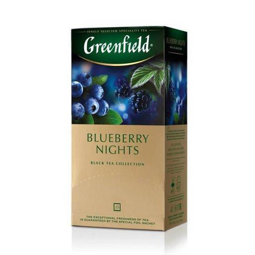 Greenfield Blueberry Nights - 25 torebek