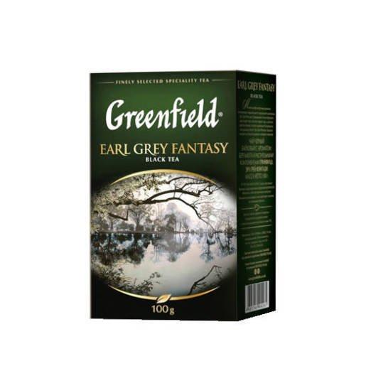 Greenfield Earl Grey Fantasy 100g czarna herbata liściasta