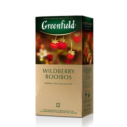 Greenfield Wildberry Rooibos - 25 saszetek