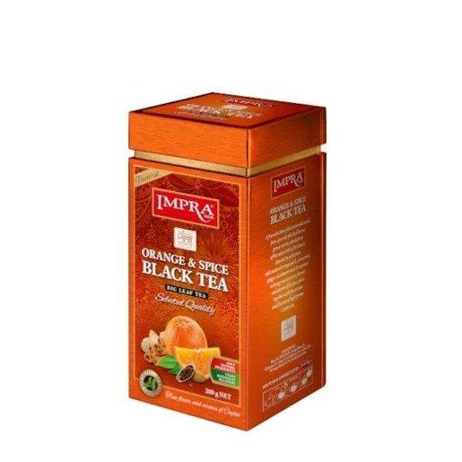 Impra - Orange Spice Black Tea 200 g herbata sypana
