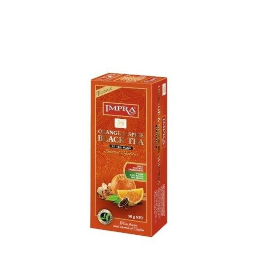 Impra - Orange & Spice Black Tea 25x2g herbata ekspresowa