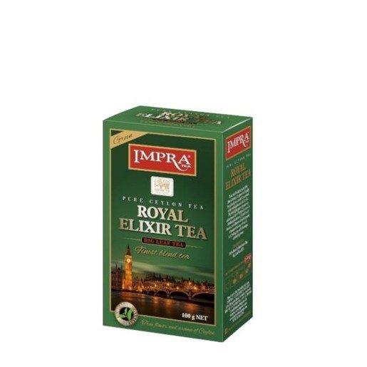 Impra Royal Elixir Tea Green- herbata zielona sypana 100g