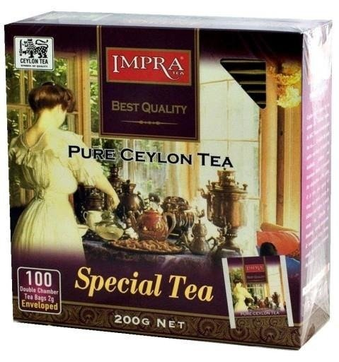 Impra Special Pure Ceylon Tea 100x2g