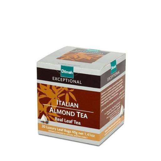 Italian Almond Tea - 20 piramidek z herbatą