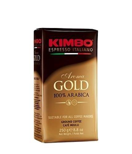 Kimbo Aroma Gold 250g włoska kawa mielona