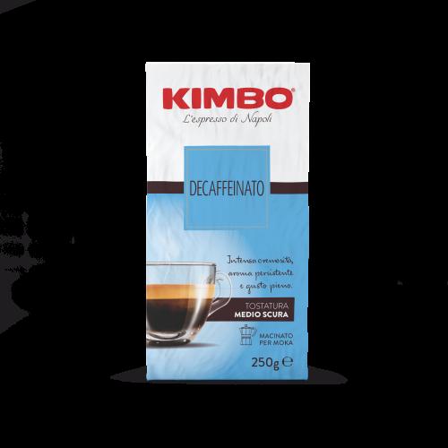 Kimbo Decaffeinato kawa bezkofeinowa mielona 250g