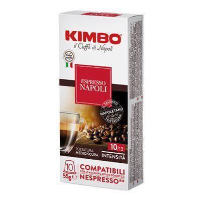 Kimbo Espresso 10 Napoli 10 kapsułek Nespresso