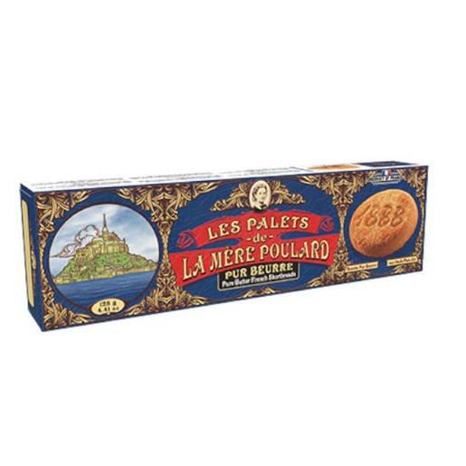 La Mere Poulard Les Palets Pur Beurre - Francuskie ciastka 125g
