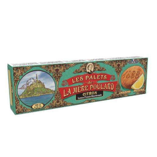 La Mere Poulard Les Palets de Citron - Francuskie ciastka 125g