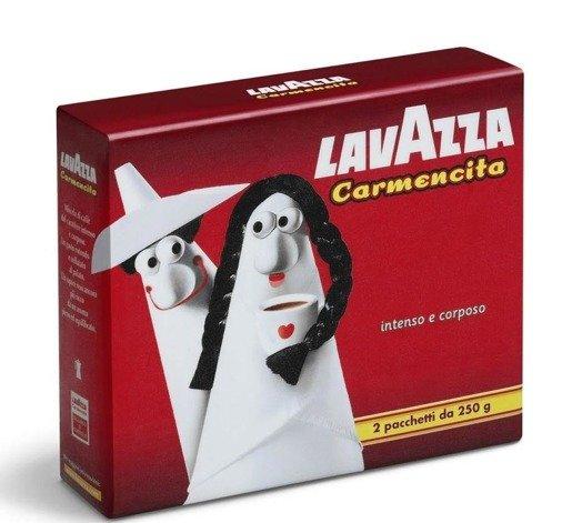 Lavazza Carmencita 2x250g kawa mielona
