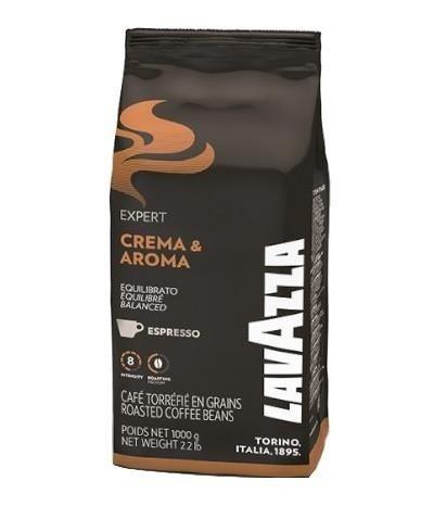 Lavazza Expert Crema & Aroma 1 kg kawa ziarnista x 6