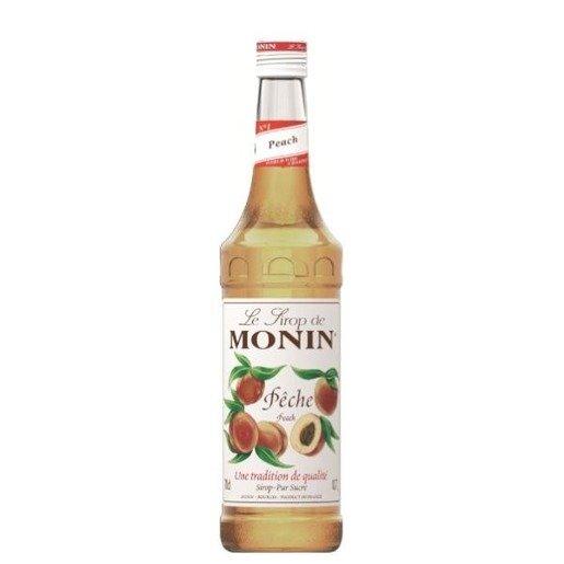 Monin Peach 0,7 l - syrop brzoskwiniowy