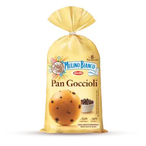 Mulino Bianco Pan Goccioli włoskie bułeczki z czekoladą 336g