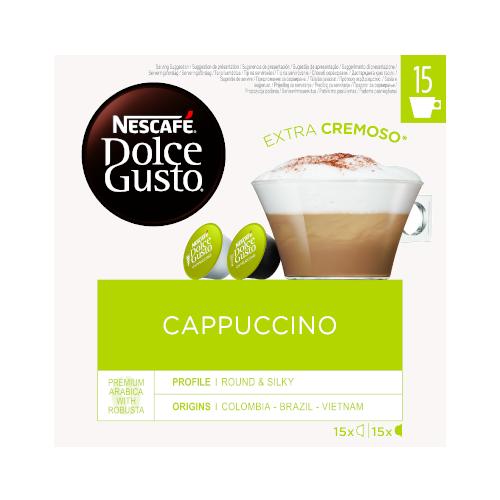 Nescafe Dolce Gusto Cappuccino - 30 kapsułek x 3
