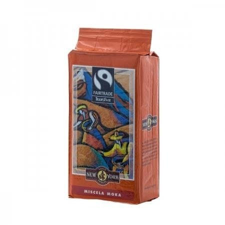New York Fairtrade TransFair Miscela Moka 250g kawa mielona